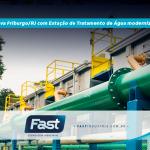 Nova Friburgo/RJ com Estação de Tratamento de Água modernizada