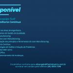Vaga disponível | Coordenador de Melhoria Contínua