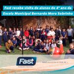 Fast recebe visita de alunos do 4º ano da Escola Municipal Bernardo Moro Sobrinho