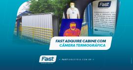 Fast adquire cabine com câmera termográfica
