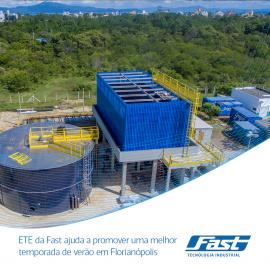 ETE da Fast ajuda a promover uma melhor temporada de verão em Florianópolis