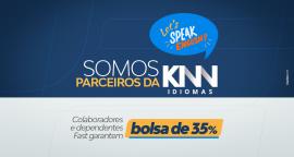 Somos parceiros da KNN Idiomas