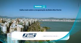 Entrevista Luciana Cadorin Baretta sobre o projeto de recuperação da Beira-mar Norte