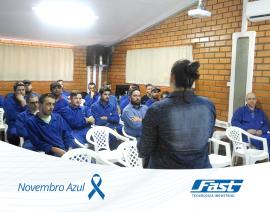 Novembro azul na Fast