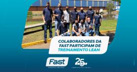 Colaboradores da Fast participam de Treinamento Lean