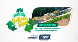 Dia da Árvore: Fast tem case bem-sucedido de cortinamento vegetal