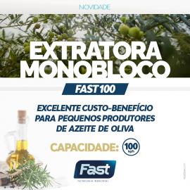 Pré-lançamento Fast!Extratora Monobloco Fast 100