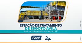 Estação de Tratamento de Esgoto Ávila entra em pré-operação em Gramado/RS