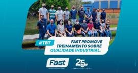 Fast promove Treinamento sobre Qualidade Industrial