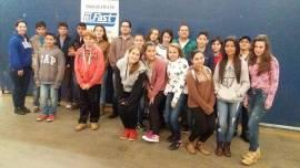 Estudantes visitam a Fast e aprendem sobre sustentabilidade