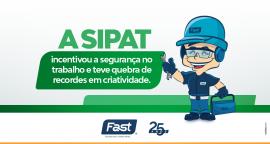 A SIPAT incentivou a segurança no trabalho e teve quebra de recordes em criatividade