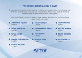 Fazendo história com a Fast