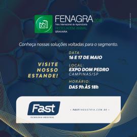 Fast presente na Fenagra 2018